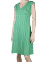 Froy & Dind jurk Coralie Heaxagon Green