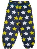 Navy broek met sterren van het Zweedse merk Maxomorra.  Het broekje is gemaakt van GOTS gecertificeerd biologisch katoen.
