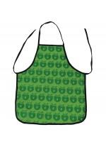 Lekker knutselen, koken of kokje spelen? Het allemaal met deze gave groene schort met appels van het Deense merk Smafolk.