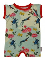 Baba-Babywear jumpsuit zomer Birds and Roses