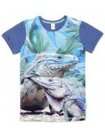 Wild T-shirt Army Iguana