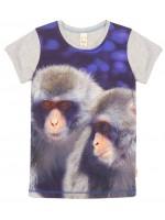 Wild T-shirt Army Macaca