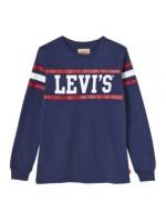 Levi's longsleeve dress blue