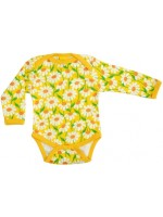 Duns Sweden romper marguerite yellow