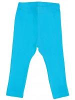 Turquoise legging van het Zweedse merk More Than a Fling.   De kinderkleding van More Than a Fling is gemaakt van 95% GOTS gecertificeerd katoen en 5% elastane.