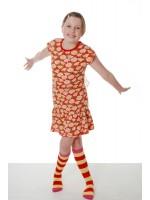 Duns Sweden jurk marguerite rood