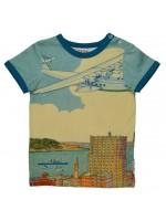 Baba-Babywear t-shirt vliegtuig