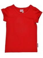 Rood t-shirt van het Belgische merk Baba-Babywear.
