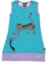 Ubang jurk kat turquoise