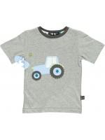 Ubang t-shirt tractor grey melange