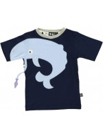 Ubang t-shirt whale navy