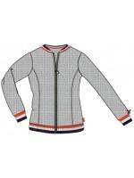 Br@nd for Girls vest quilt grey melange