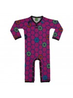 Villervalla jumpsuit dots Drk Blackberry