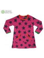 Villervalla jurk ster roze