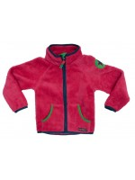 Villervalla vest teddy fleece roze