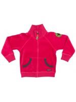 Villervalla vest velour pink