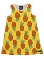 Villervalla jurk ananas geel
