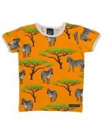 Villervalla t-shirt zebra oranje