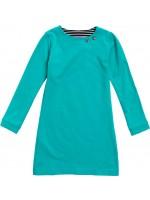 Waaaw jurk l/s turquoise