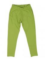 Hippe groene velours legging van het Zweedse merk Maxomorra. De legging is gemaakt van biologisch katoen.