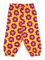 Maxomorra broek bloemen oranje