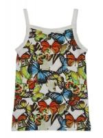 Wild topje Bella butterfly