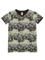 Wild t-shirt Navy Rhino