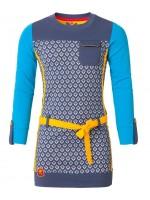 Chaos & Order jurk Jaylin blue